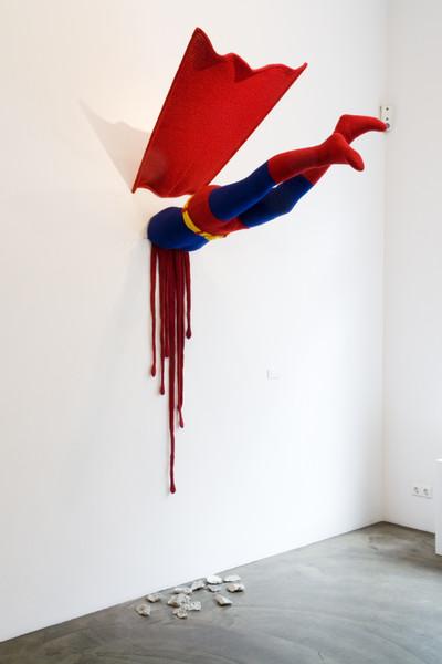Superman_Ausstellungsansicht