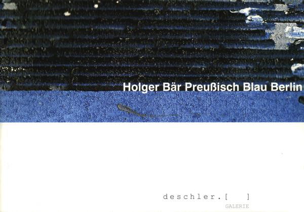 HBaer_Preussisch Blau Berlin
