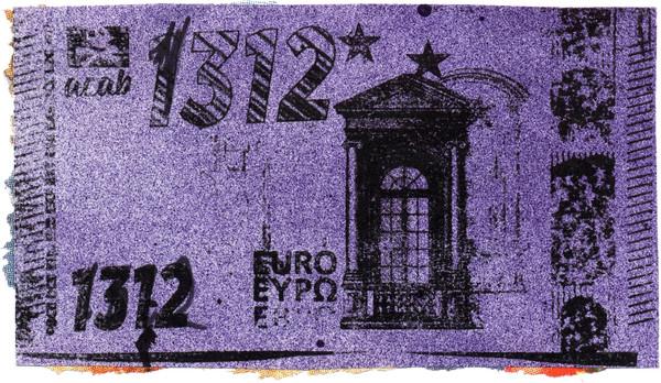 Anonymus: 1312 Euro, 7 x 12 cm