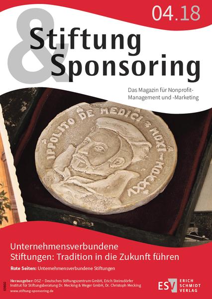 Stiftung&Sponsoring 04/2018