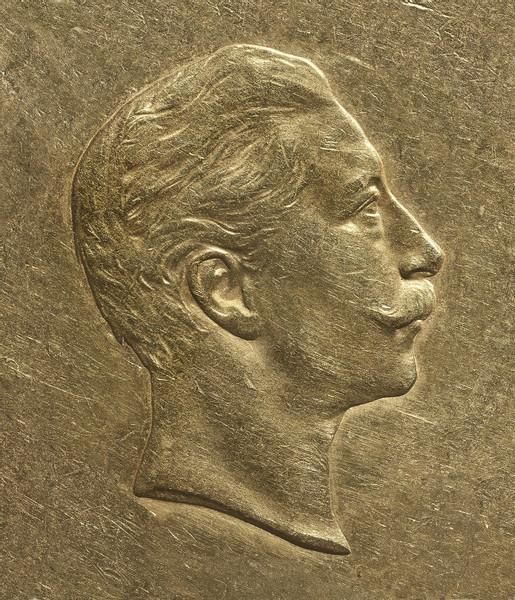 Numismatics #5 (Wilhelm II, Emperor of Germany), 2014, 49 x 42 cm, Tintenstrahldruck auf Barytpapier und Alu-Dibond, Foto © Joachim Froese