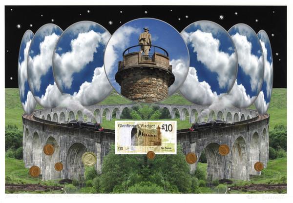 Kurt Buchwald: »Bonnie Prince Charlie and the happiness«, Schottland 2012 (2012), Druck auf Hahnemühle Fineart-Papier, 1/10, 40 x 50 (Bogen), 30 x 45 (Motiv) • Repro: Hermann Büchner