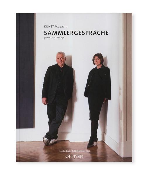 Cover »Sammlergespräche«, © OFFIZIN Zürich Verlag