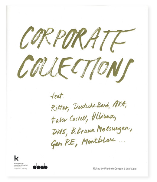 Cover »Corporate Collections«, © daab Verlag Köln, Gestaltung:  Meiré und Meiré