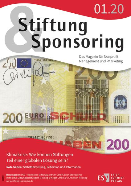 Stiftung&Sponsoring, 01/2020