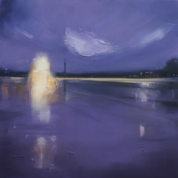 Ausstellung: Sigrid Nienstedt - Farben der Luft