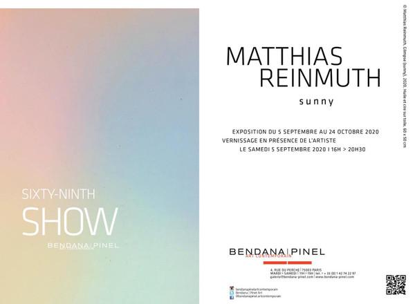 Einladungskarte Matthias Reinmuth - sunny