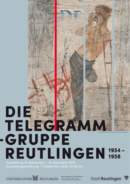 telegramme-gruppe Plakat
