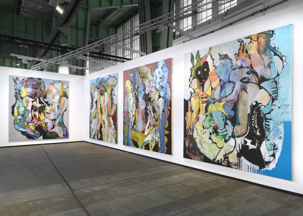 Stefan Hirsig at art berlin 2019