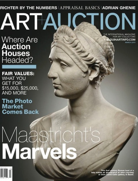 Art+Auction 2013_Ancient or Modern, Must-Haves for March are Marble
