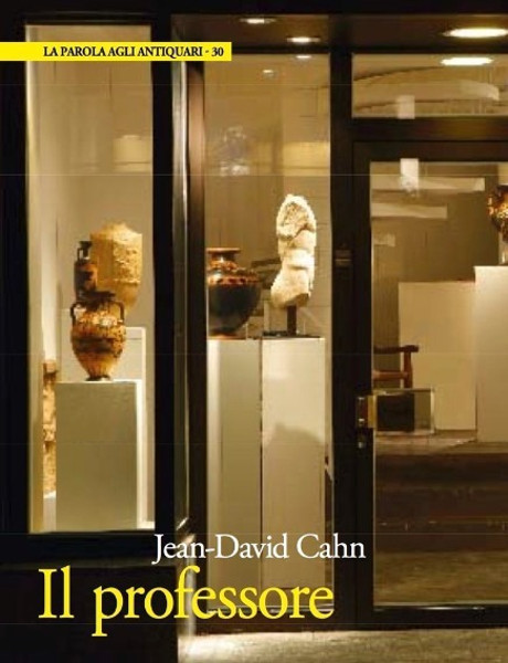 Antiquariato 2014_Jean-David Cahn – Il professore