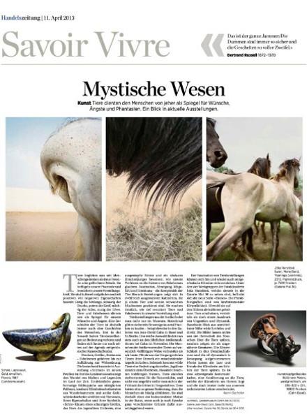 Handelszeitung 2013_Mystische Wesen
