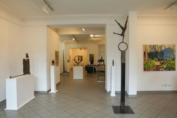 Ausstellung M. Jastram und K. Schiffermüller
