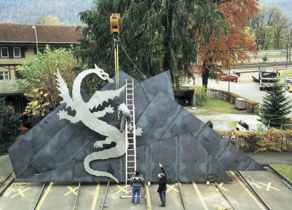 PILATUS DRAGON 2000 - 14x7 m  4.2T