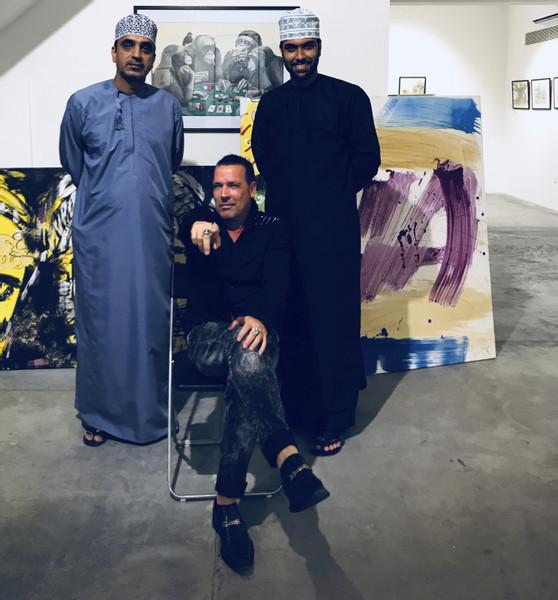 Stay Gallery Muscat Oman Galerist Hassan Meer 2017