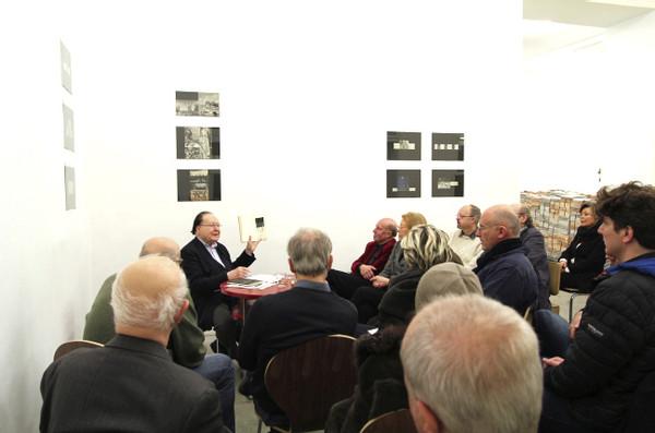 "from the series CONVERSATIONS: Gerhard Rühm ""ehering und fingerhut"", January 2013"