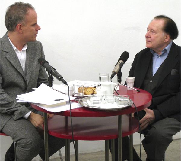 from the series CONVERSATIONS: Hans-Ulrich Obrist & Gerhard Rühm, November 2008