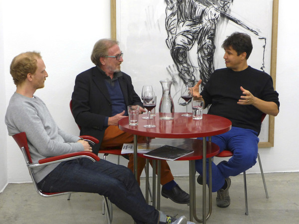 from the series CONVERSATIONS: Jakob Z. Steiner, Adel Abdessemed & Pier Luigi Tazzi, February 2015
