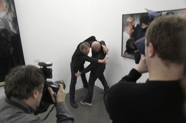 G.R.A.M. Reenactment, Photobiennale 2012, Moscow House of Photography