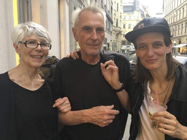 Eva, Sepp, Toni, June 2019