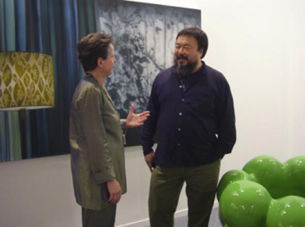 Ai Weiwei & Christine König, Art Dubai, 2008