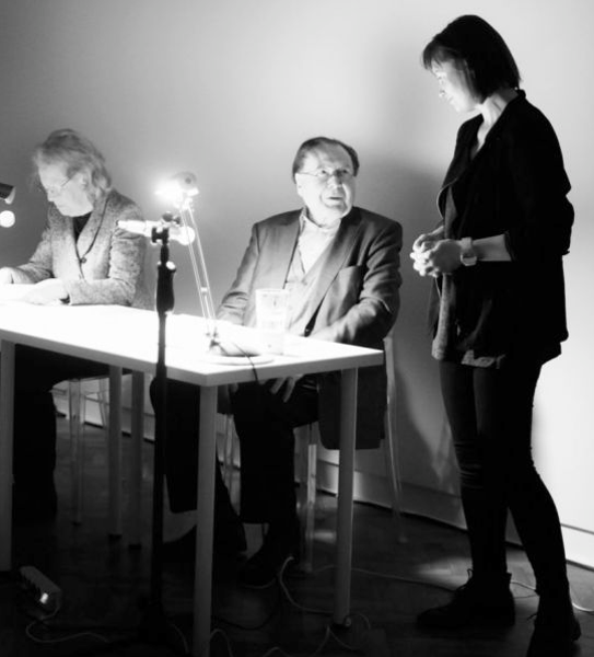 Gerhard Rühm, Monika Lichtenfeld & Natalia Zaluska @ Museum Sztuki Lodz, 2017