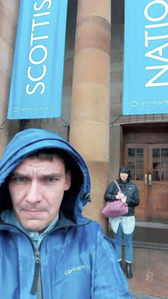 Robby & Andrea in Edinburgh