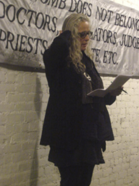 Kiki Smith, Memorial for Nancy Spero, New York, October 2009