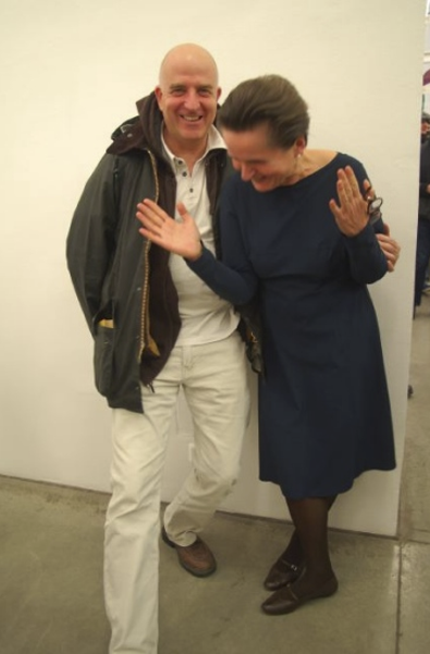Hubert Schmalix & Christine König, March 2010