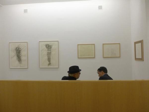 Antony Gormley, Joseph Kosuth & Mario Codognato, September 2014