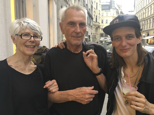 Eva, Sepp, Toni, June 2019