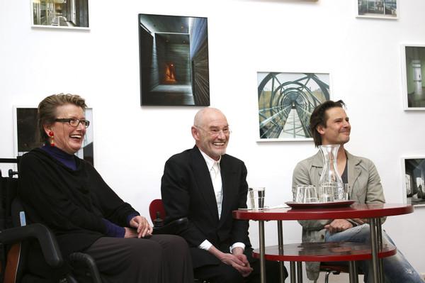 from the series CONVERSATIONS: Margherita Spiluttini, Dietmar Steiner (AZW) & Mark Jenewein (LOVE architecture)