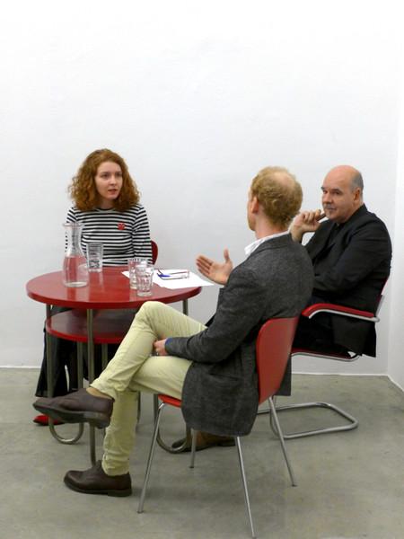 "from the series CONVERSATIONS: ""Through Maidan and Beyond"", Thomas Miessgang, Lesya Prokopenko & Jakob Z. Steiner, November 2014"