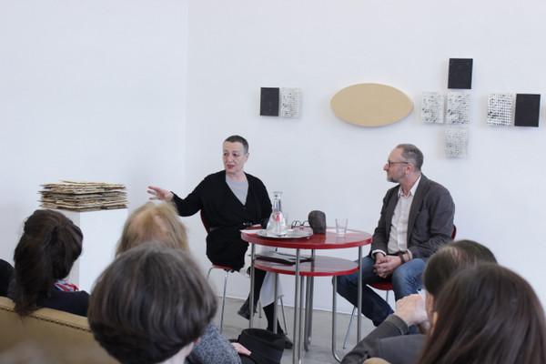 from the series CONVERSATIONS: Franz Kerschbaum & Magda Csutak, April 2019