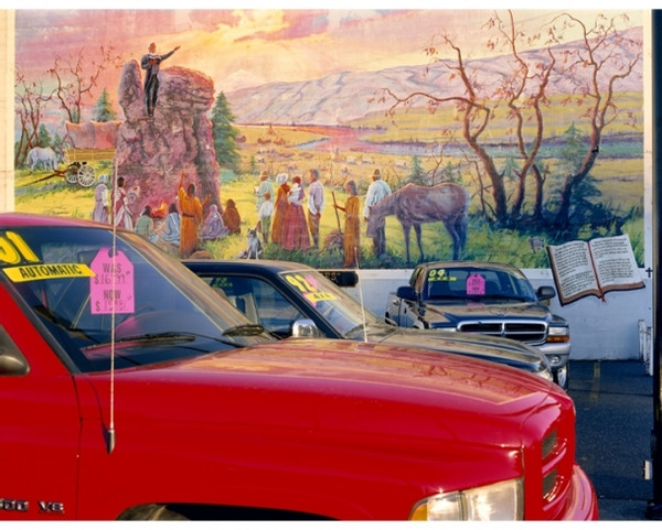 """Mitch Epstein, """"Griffith Motors, The Dalles, Oregon"""", 2006. From the series """"American Power"""""""