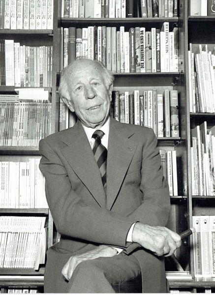 Felix Jud in den 1980er Jahren