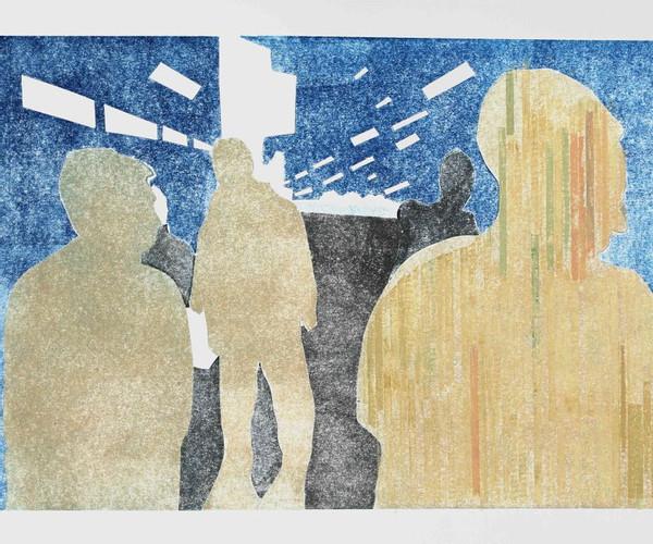 Lukas Weiss. BOYS. 60 x 80 cm. 2019. Galerie Heckenhauer