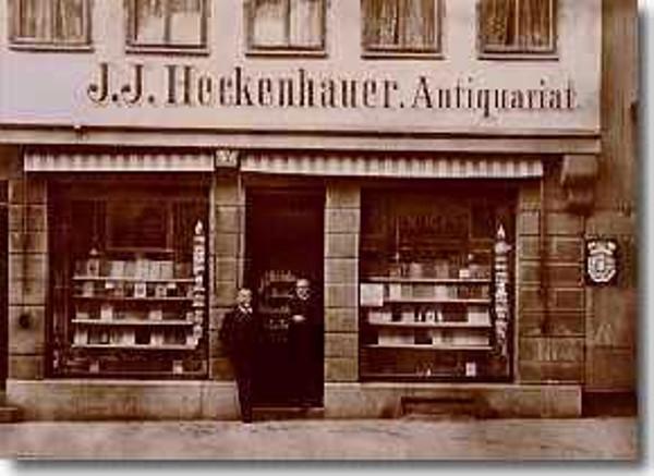 Heckenhauer Tübingen about 1890