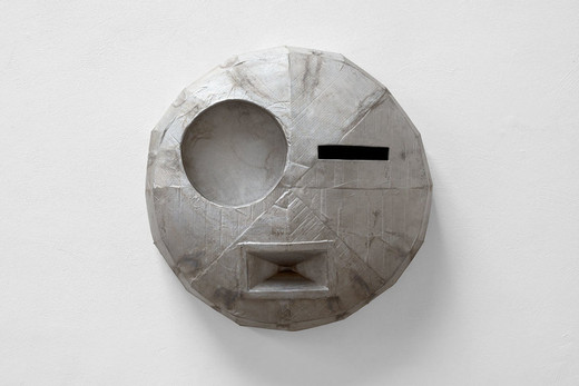 "<span class=""artists work-caption"">Michael Sailstorfer</span><span class=""title work-caption"">M. 31</span><span class=""technique work-caption"">casted aluminium</span><span class=""year work-caption"">2015</span><span class=""dimensions work-caption"">90 x 92 x 27 cm</span><span class=""edition work-caption"">unique</span>"