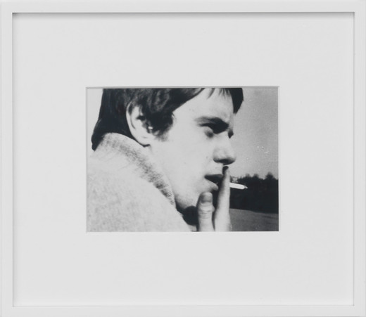 Ryan Gander, Portrait of Spencer Anthony Somewhere between 1970 and 1973, black and white photography, 2003, 15 x 20 cm, 4/5 + 2 AP