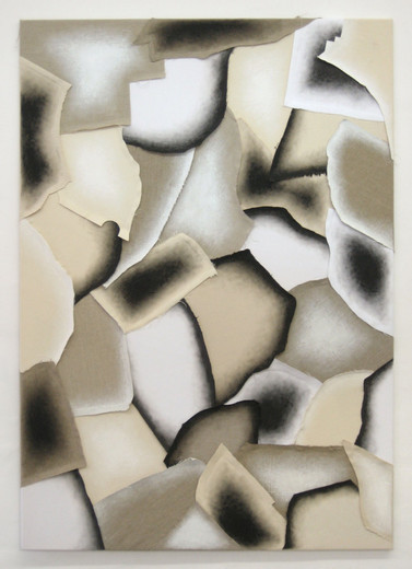 Alexander Wolff, o.T., acrylic on cotton, linen, 2008, 150 x 105 cm
