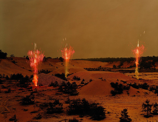 Taryn Simon, Fireworks by Grucci, Northern Test Site Corporate Headquarters - Brookhaven, New York, c-print, framed, 2006 - 2007, 95 x 113 cm, 2/7