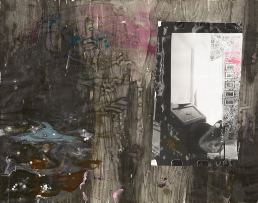 Amelie von Wulffen, Untitled, collage, mixed materials, gelantin silver print on paper, 2008, 150 x 182 cm
