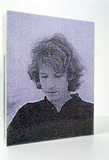 , Bas Jan Ader-Box, pasteboard, color copy, foil, permanent marker, 2002, 36.5 x 29 x 5 cm