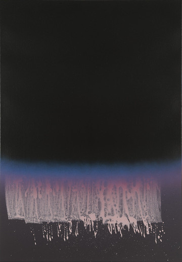 Nathan Hylden, Untitled, acrylic and polyurethane on canvas, 2010, 171.5 x 119.4 cm, unique