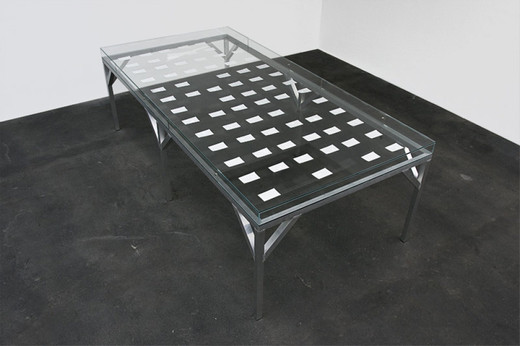 MICOL ASSAËL, Inner Disorder (71), display cases, ink and graphite on paper, 71 parts, 1999 - 2009, 110 x 350 x 170 cm