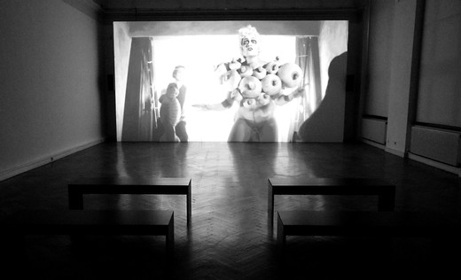 "<span class=""artists work-caption"">Julian Rosefeldt</span><span class=""title work-caption"">Deep Gold</span><span class=""technique work-caption"">1-channel film, b/w, sound, shot on HD, converted to HD-SR and transferred onto a hard disc player, aspect ratio 16:9</span><span class=""year work-caption"">2013 – 2014</span><span class=""dimensions work-caption"">Loop, 18 min 12 sec</span><span class=""edition work-caption"">6</span>"