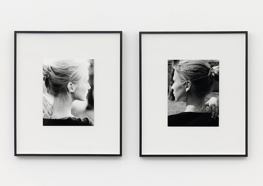Alicja Kwade, Ich ist eine Andere, photographs, 2 parts, 2001, each 38 x 29 cm; 15 x 11 1/2 in unframed 71.5 x 61.5 x 4.5 cm; 28 1/4 x 24 1/4 x 1 3/4 in framed, 3/3 + 2AP