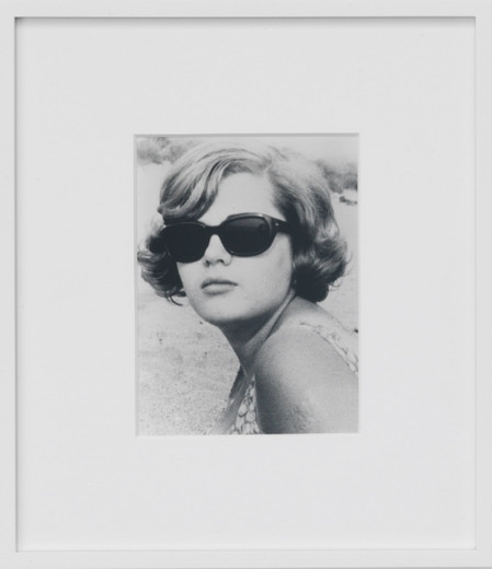 Ryan Gander, Portrait of Mary Auroré Somewhere between 1970 and 1973, black and white photography, 2003, 15 x 20 cm, 3/5 + 2 AP