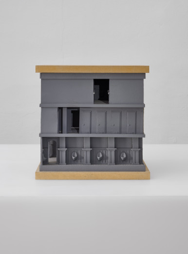 "<span class=""artists work-caption"">Andreas Schmitten</span><span class=""title work-caption"">Untitled</span><span class=""technique work-caption"">wood, cardboard, polyurethane</span><span class=""year work-caption"">2005</span><span class=""dimensions work-caption"">34 x 36 x 34 cm</span><span class=""edition work-caption"">© photo Niels Schabrod</span>"